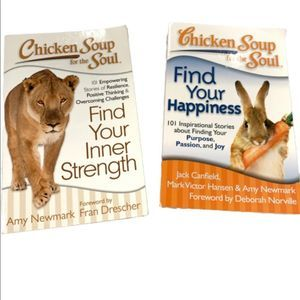 TWO Chicken Soup for the Soul Books - One Price